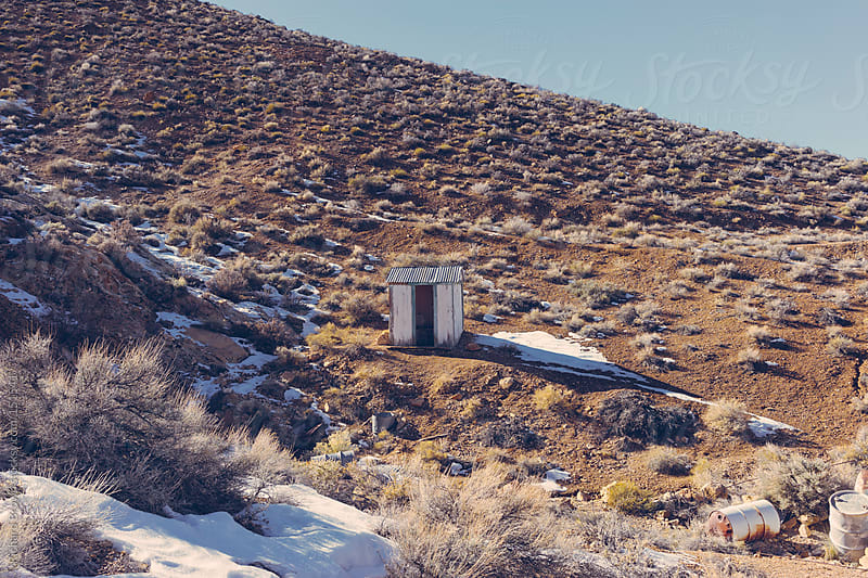 Lonely loo by Richard Brown for Stocksy United