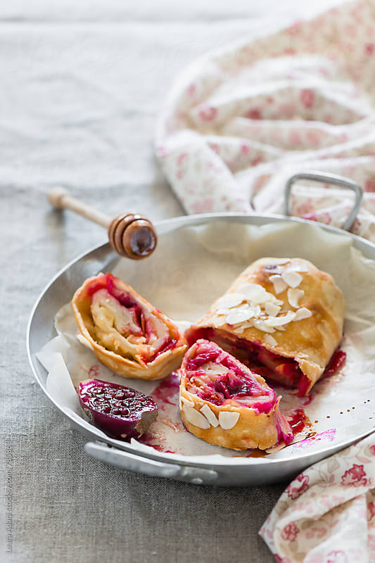 Strudel filled with prickly pear by Laura Adani for Stocksy United