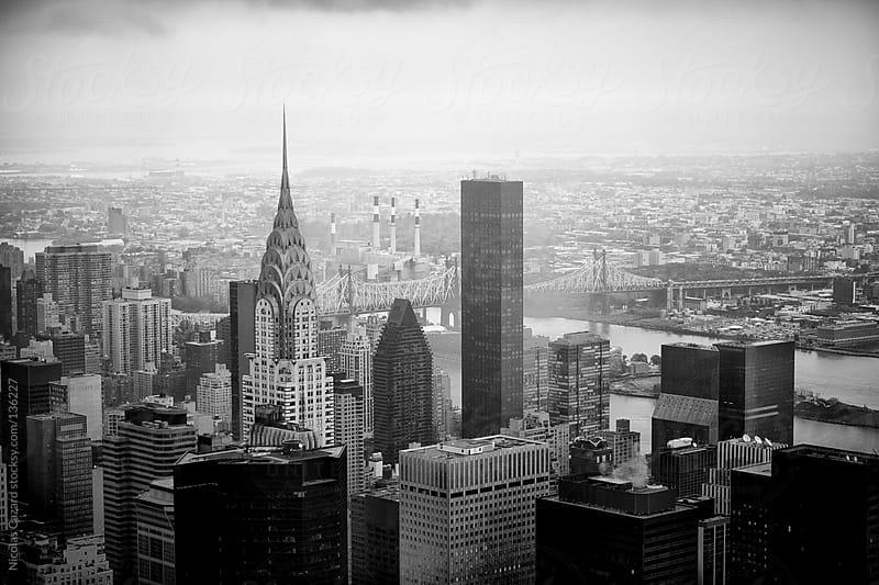 Manhattan Skyline  by Nicolas Cazard for Stocksy United
