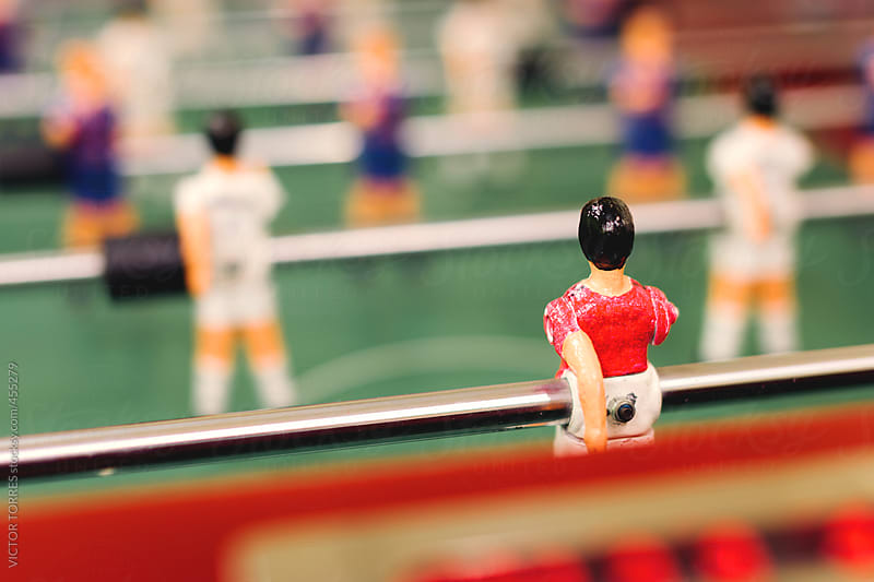 Spanish Futbolin - Table Soccer Game by VICTOR TORRES for Stocksy United