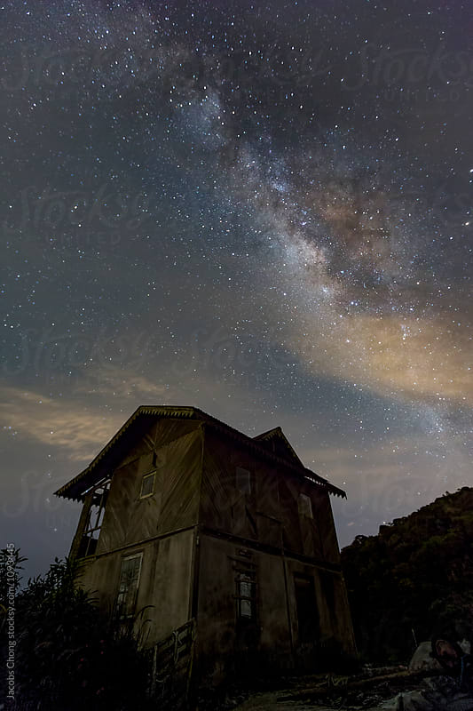 Milky Way at Cameron Highland by Jacobs Chong for Stocksy United