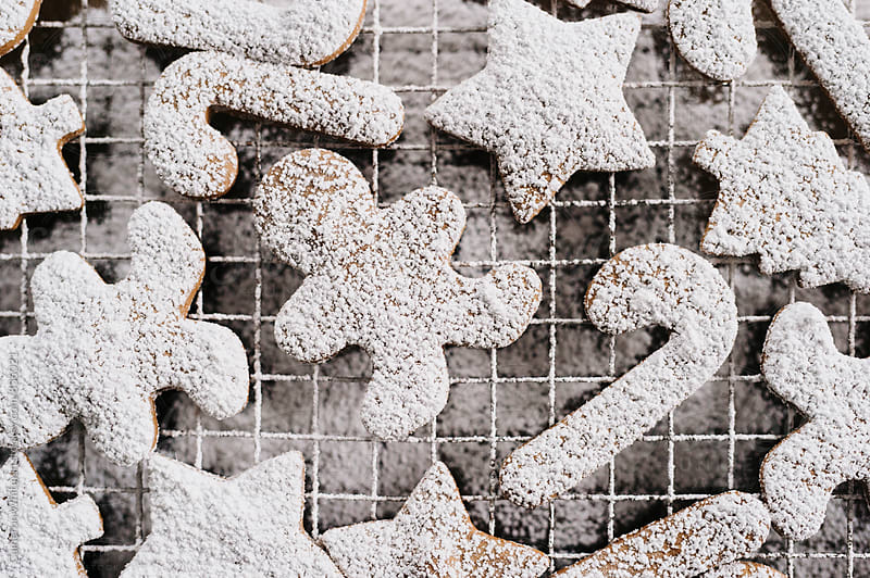 Holiday Themed Gingerbread Cookies by Cameron Whitman for Stocksy United