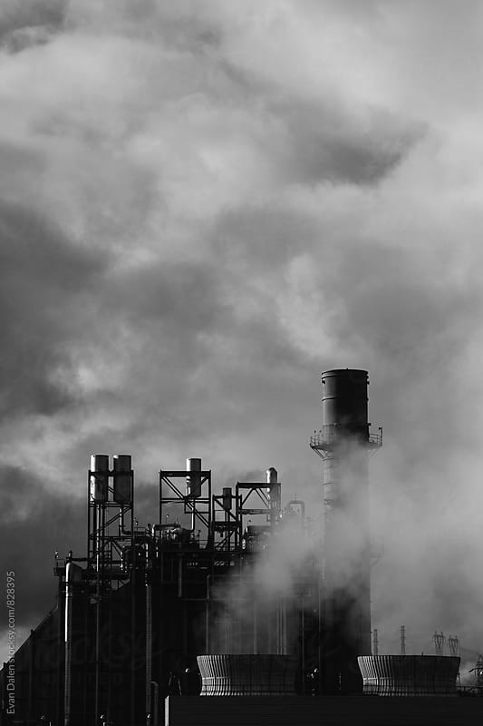 Paper Mill Exhaust Fumes by Evan Dalen for Stocksy United
