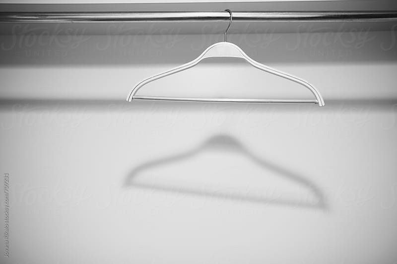 Hanger on a metal rack by Jovana Rikalo for Stocksy United