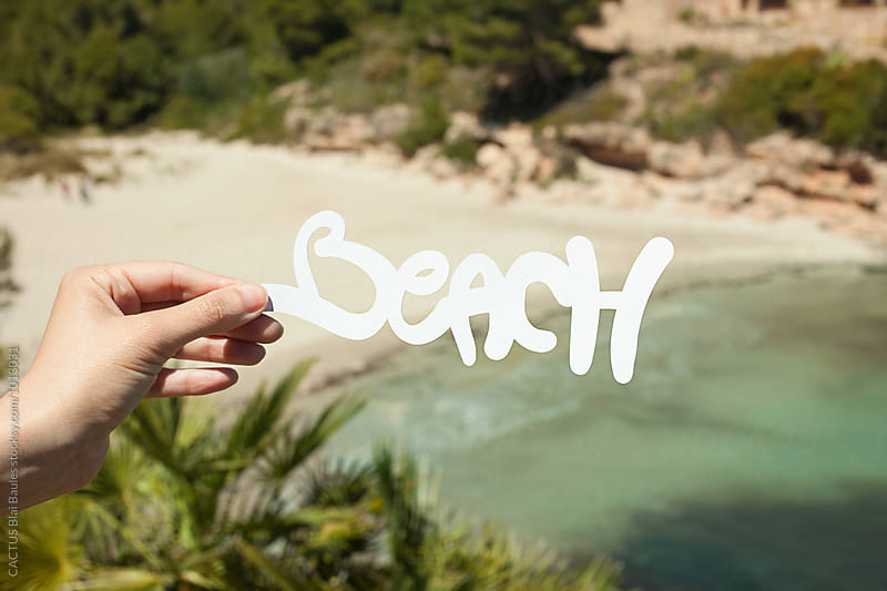 Beach by CACTUS Blai Baules for Stocksy United