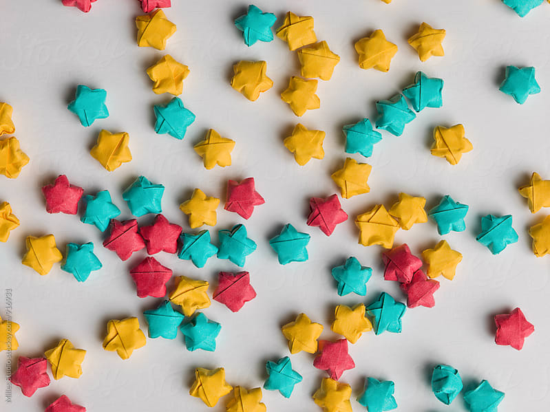 Paper stars by Milles Studio for Stocksy United