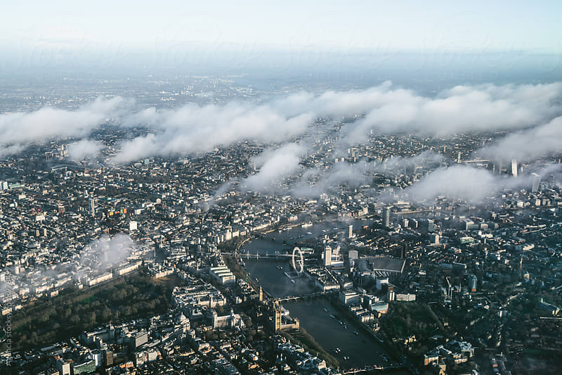 River Thames Aerial by Agencia for Stocksy United