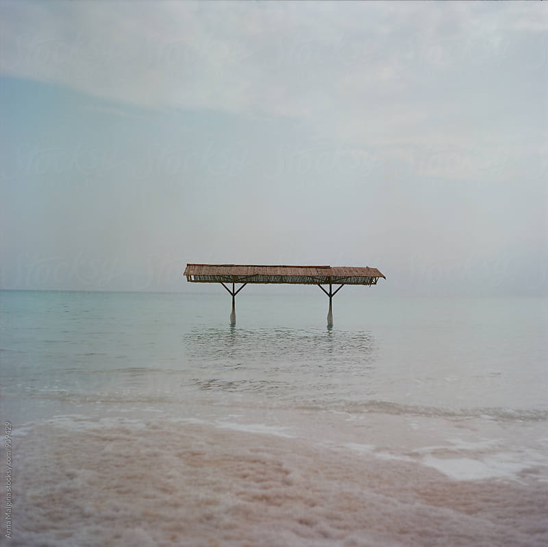 A film photo of dead sea by Anna Malgina for Stocksy United