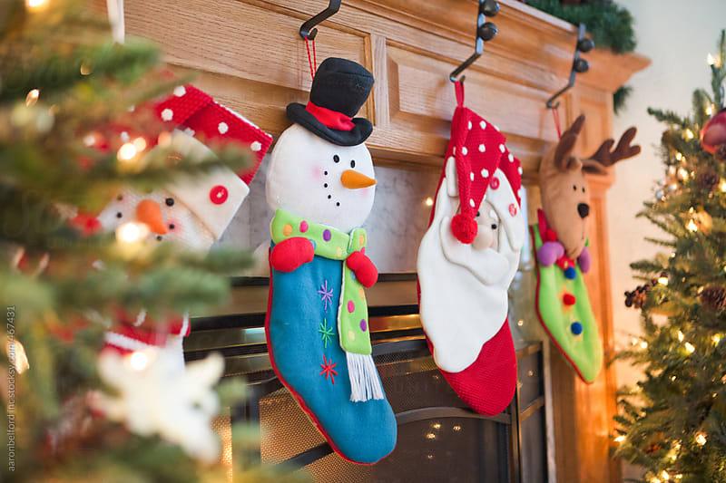 Christmas Stockings by aaronbelford inc for Stocksy United