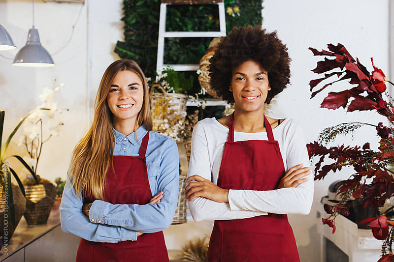 Flower store. by BONNINSTUDIO for Stocksy United