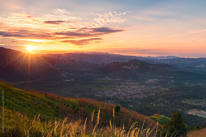 Sunrise at Broga Hill, Selangor by Jacobs Chong for Stocksy United