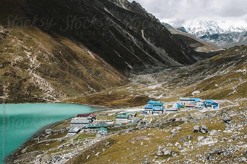 Gokyo village, Everest Region, Sagarmatha National Park, Nepal. by Thomas Pickard Photography Ltd. for Stocksy United
