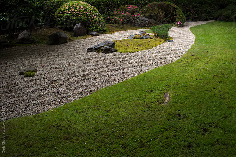 A Zen Garden by Chris Chabot for Stocksy United