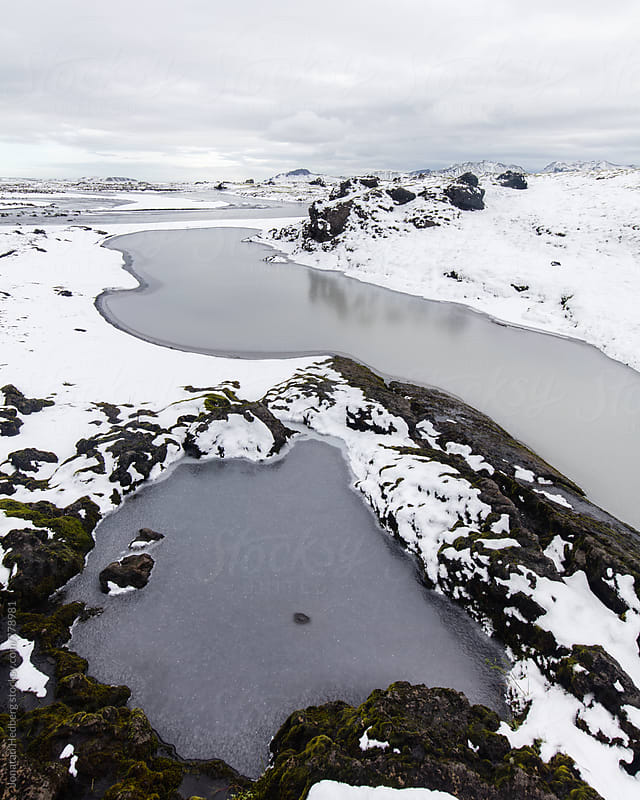 Frozen ponds by Jonatan Hedberg for Stocksy United
