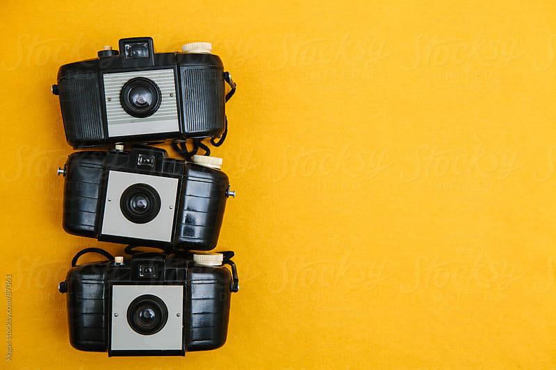 Vintage cameras. by kkgas for Stocksy United