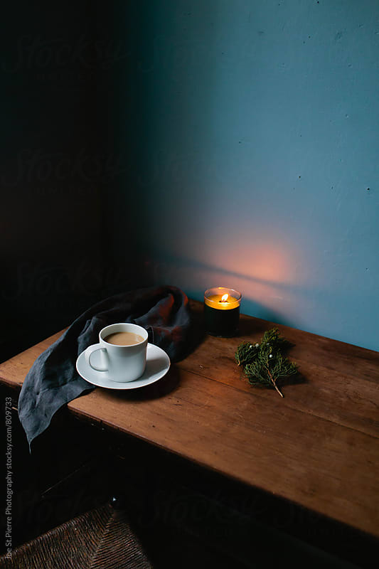 Evening coffee by Joe St.Pierre Photography for Stocksy United