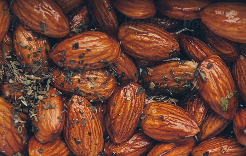 Spicy Almonds by Lumina for Stocksy United