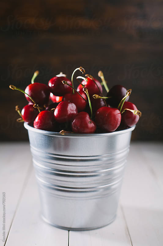 Fresh Cherries by Davide Illini for Stocksy United