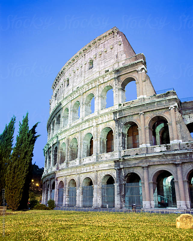 The Colosseum, Rome, Lazio, Italy, Europe  by Gavin Hellier for Stocksy United