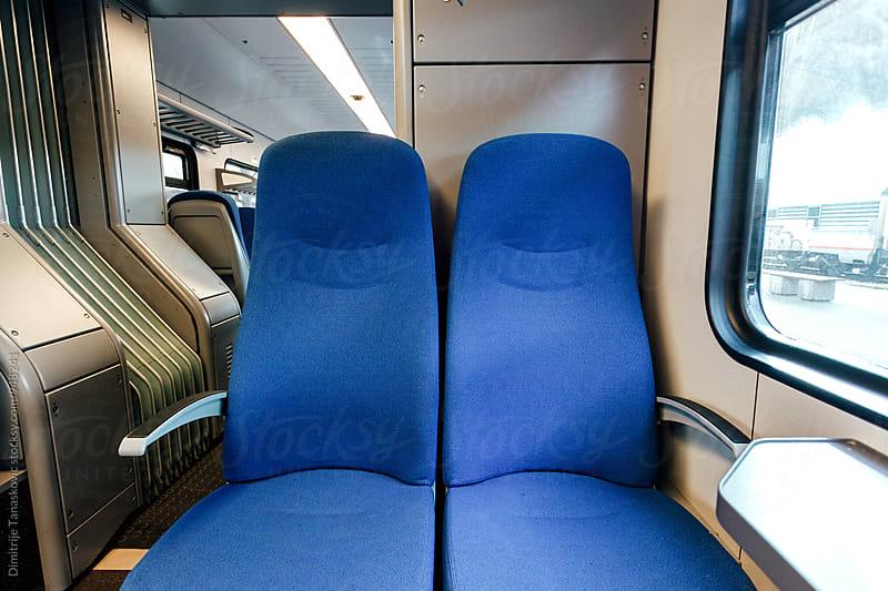 Train interior by Dimitrije Tanaskovic for Stocksy United