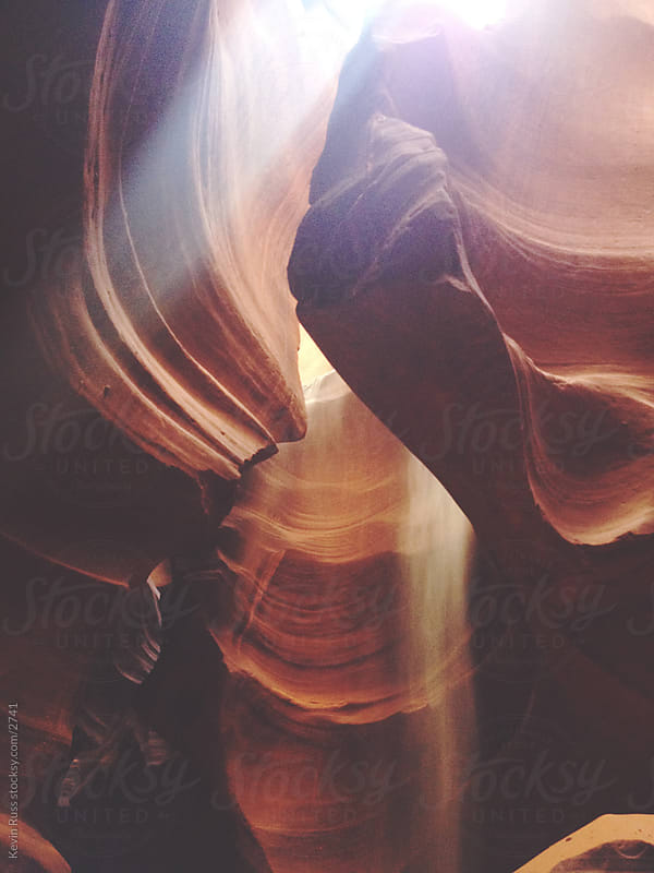 Slot Canyon Light by Kevin Russ for Stocksy United