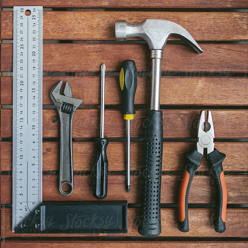 Work tools by Zocky for Stocksy United