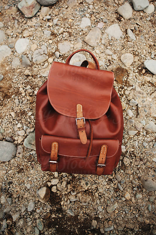 Leather Backpack by Bethany Olson for Stocksy United