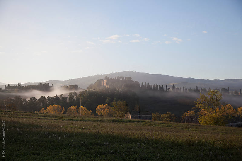 Tuscany Landscape. Val d'Orcia Italy by HEX . for Stocksy United