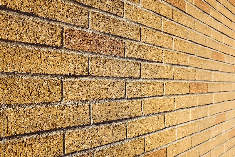 Brick wall by Paul Edmondson for Stocksy United