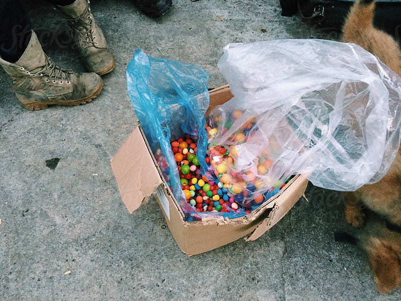 Garbage Candy by Kevin Russ for Stocksy United