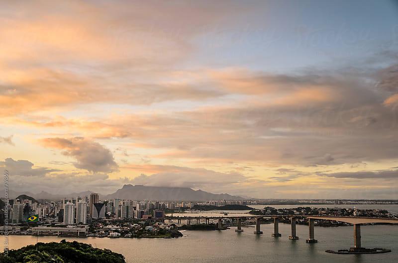 Third Bridge - Vitória Bay - Vitória, Brazil. by Yuri Barichivich for Stocksy United