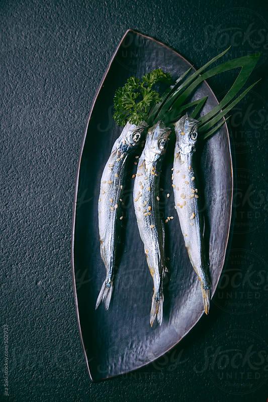 cod fish by jira Saki for Stocksy United