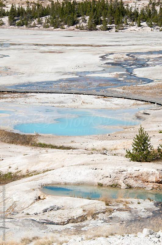 Geothermal Hotspring by Rhonda Adkins for Stocksy United