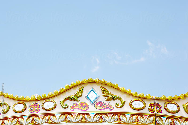 Decorations on a fairground ride by James Ross for Stocksy United