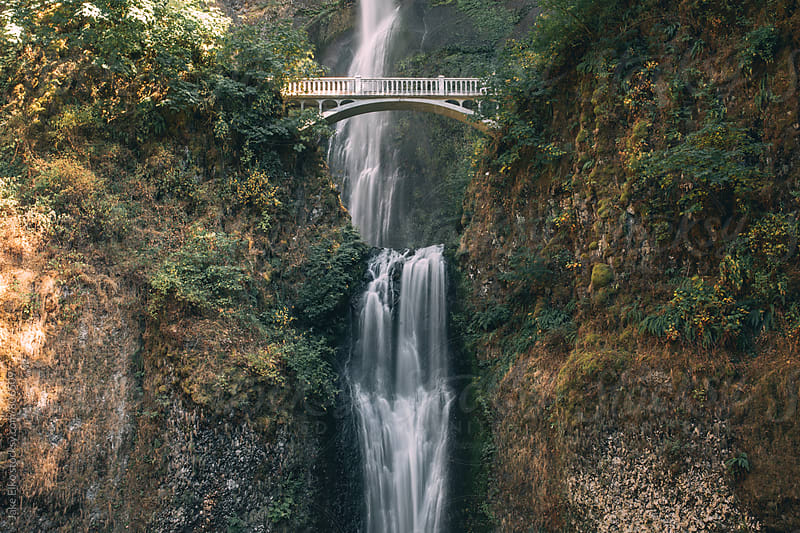 Multnomah Falls by Jake Elko for Stocksy United