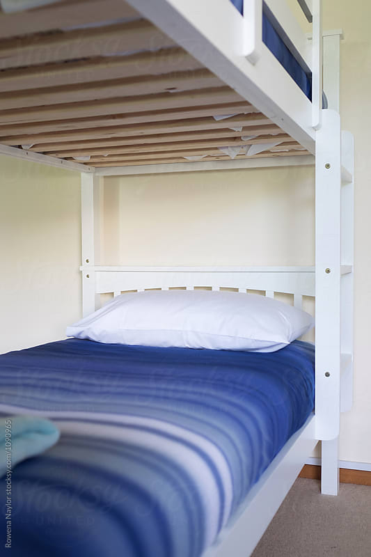 Kids bunkbeds by Rowena Naylor for Stocksy United
