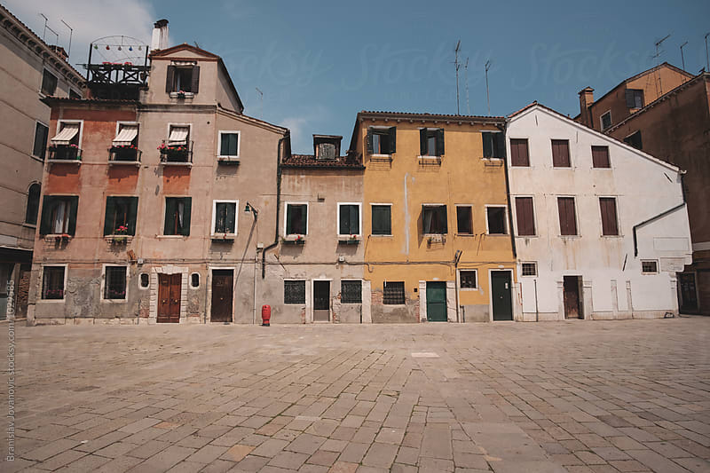 Buildings in Venice, Italy by Branislav Jovanović for Stocksy United