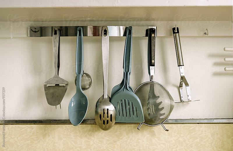 Kitchen Utensils  by Raymond Forbes LLC for Stocksy United