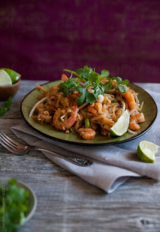 Pad Thai  by Ivan Solis for Stocksy United