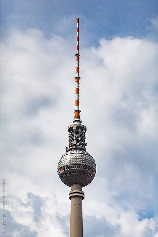 Alexanderplatz TV Tower in Berlin, Germany by Giorgio Magini for Stocksy United