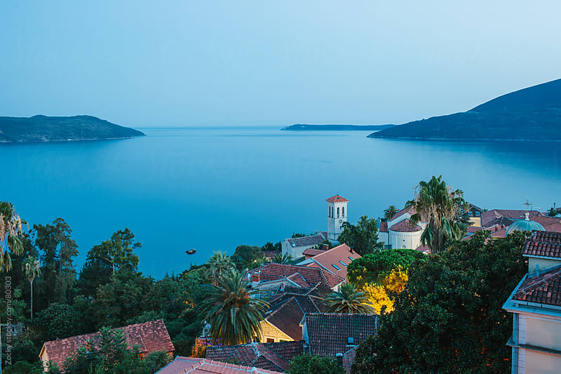Beautiful View Of Montenegro City Herceg Novi  by Zocky for Stocksy United