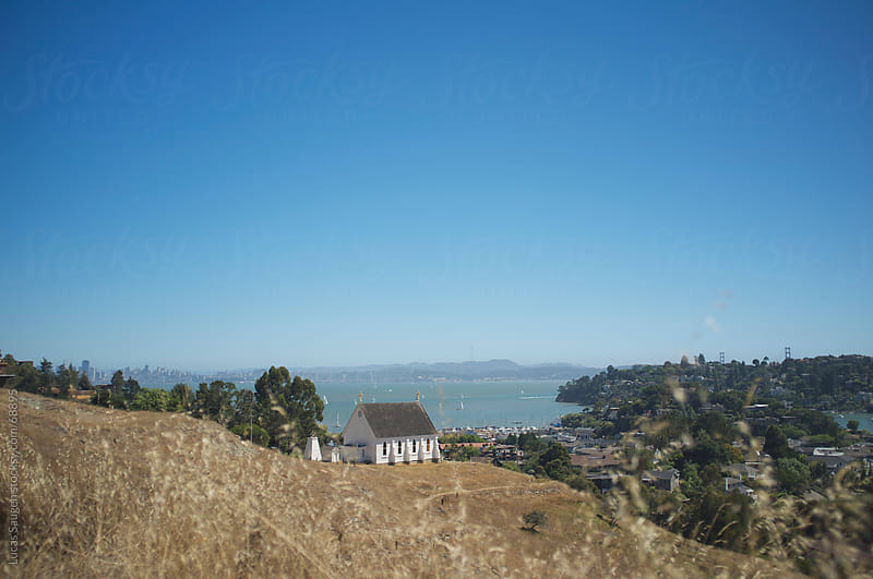 Old Saint Hilary Church outside of San Francisco, California by Lucas Saugen for Stocksy United