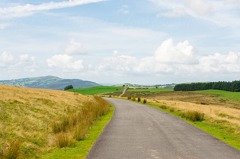 Road through Wales by Jen Grantham for Stocksy United