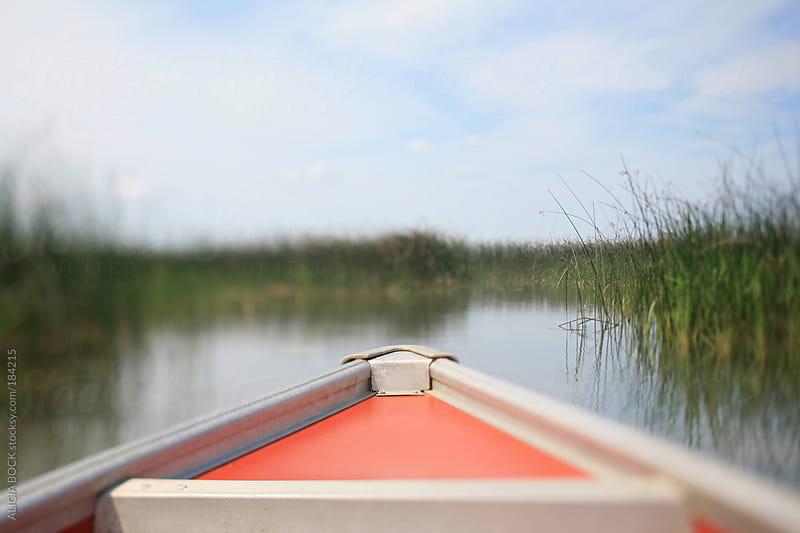 Orange Canoe by ALICIA BOCK for Stocksy United