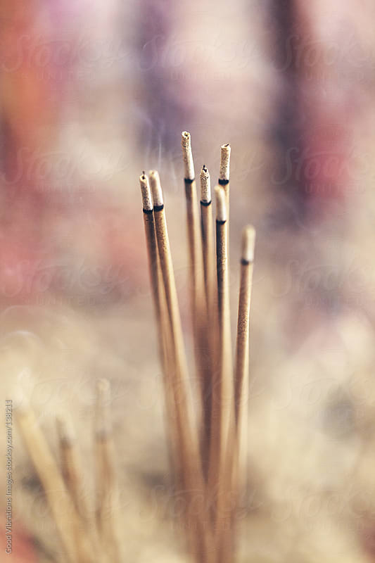 Incense Sticks by Good Vibrations Images for Stocksy United