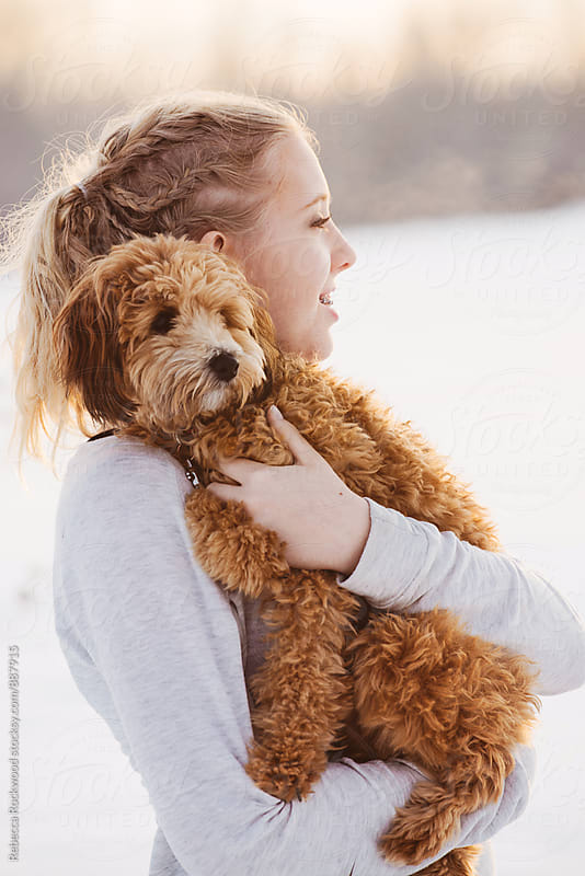 Puppy love by Rebecca Rockwood for Stocksy United