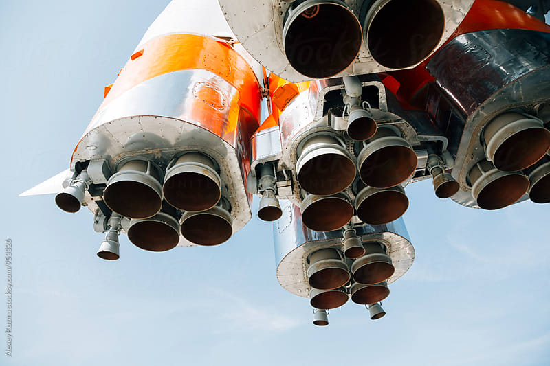 Real Rocket Engines by Alexey Kuzma for Stocksy United