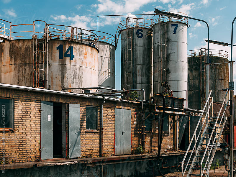 Derelict industry by Photographer Christian B for Stocksy United