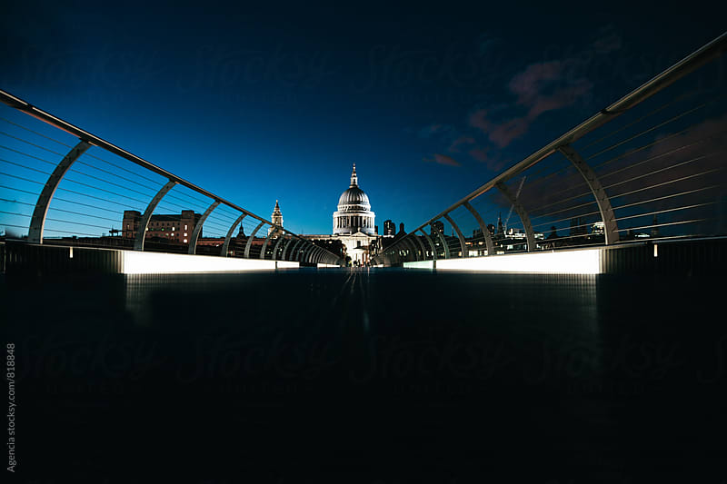 St. Pauls Twilight by Agencia for Stocksy United