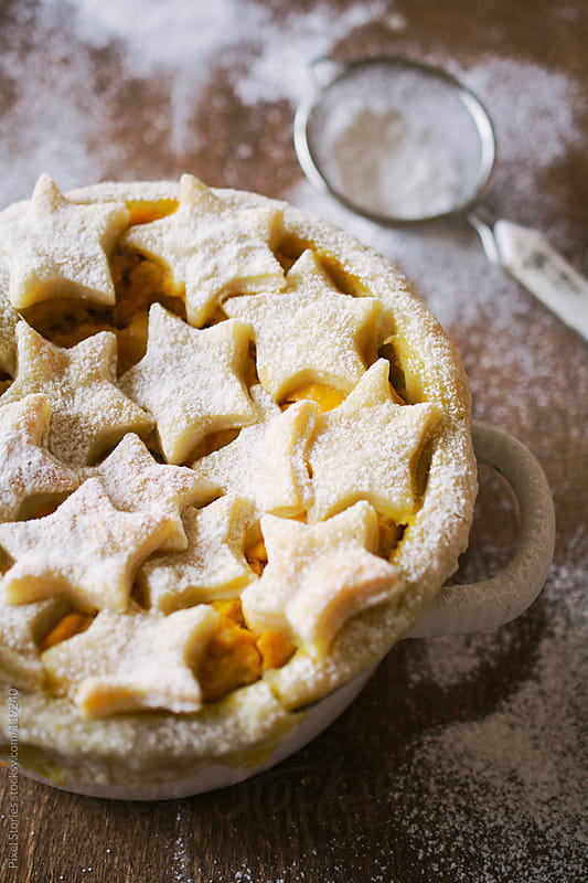 Pumpkin pie by Pixel Stories for Stocksy United